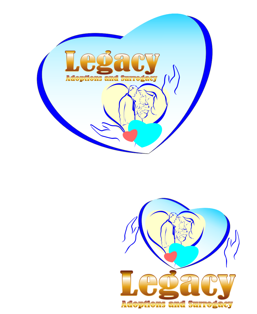Logo Design by Private User - Entry No. 136 in the Logo Design Contest Legacy Adoptions and Surrogacy Logo Design.
