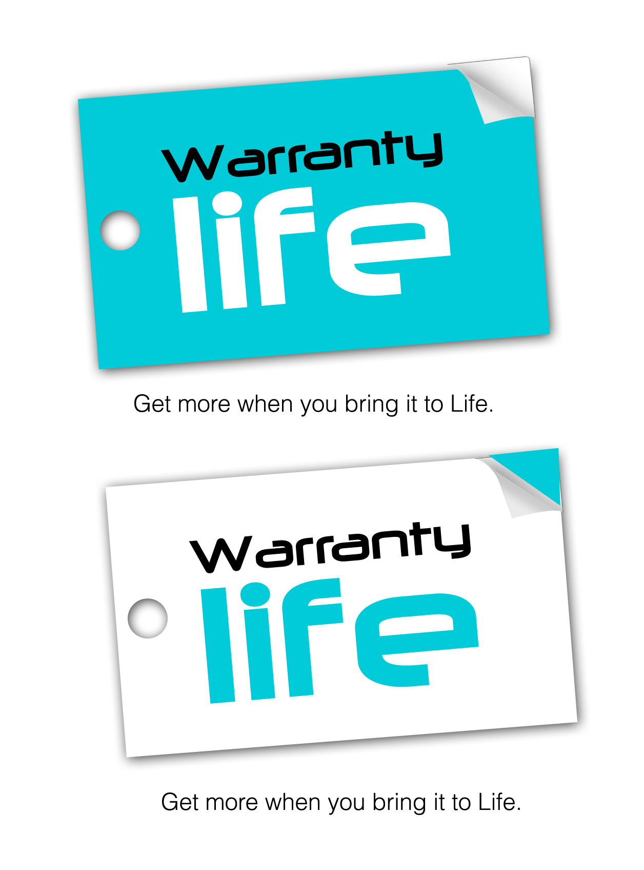 Logo Design by Lama Creative - Entry No. 110 in the Logo Design Contest WarrantyLife Logo Design.