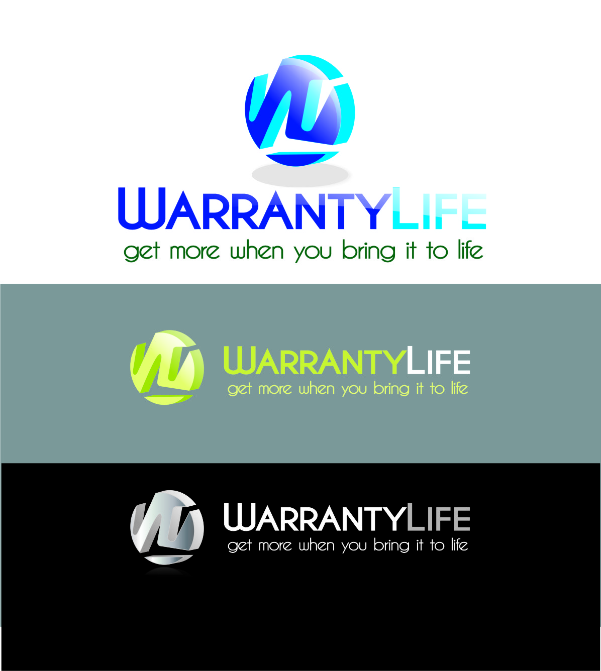 Logo Design by Private User - Entry No. 125 in the Logo Design Contest WarrantyLife Logo Design.