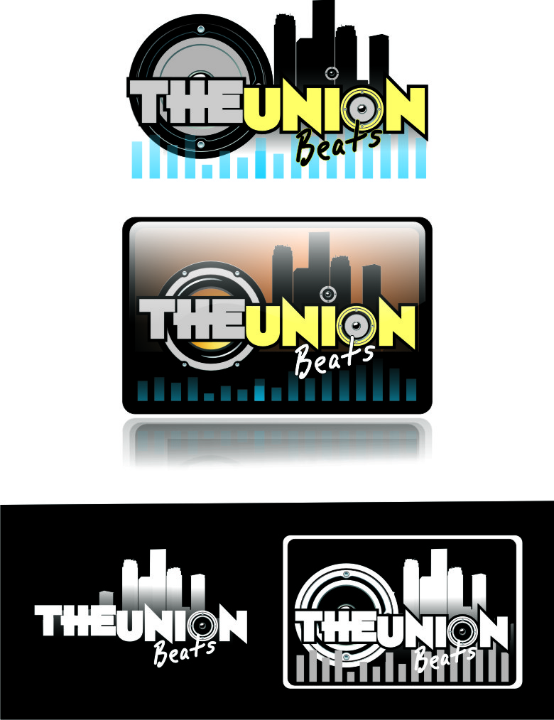 Logo Design by Private User - Entry No. 50 in the Logo Design Contest Unique Logo Design Wanted for THE UNION BEATS.