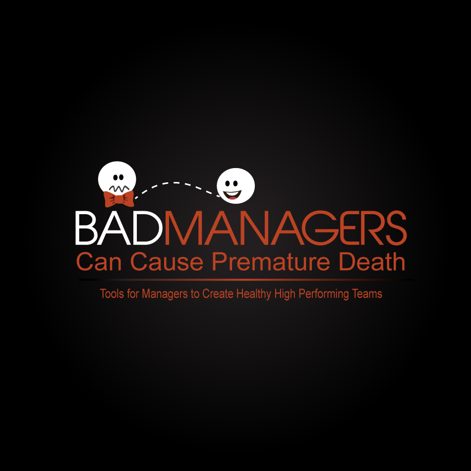 Logo Design by moonflower - Entry No. 45 in the Logo Design Contest Unique Logo Design Wanted for Bad Managers Can Cause Premature Deaths.