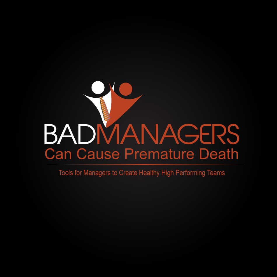 Logo Design by moonflower - Entry No. 51 in the Logo Design Contest Unique Logo Design Wanted for Bad Managers Can Cause Premature Deaths.