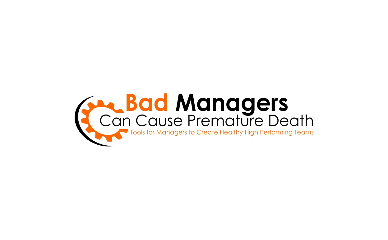 Logo Design by dzoker - Entry No. 53 in the Logo Design Contest Unique Logo Design Wanted for Bad Managers Can Cause Premature Deaths.