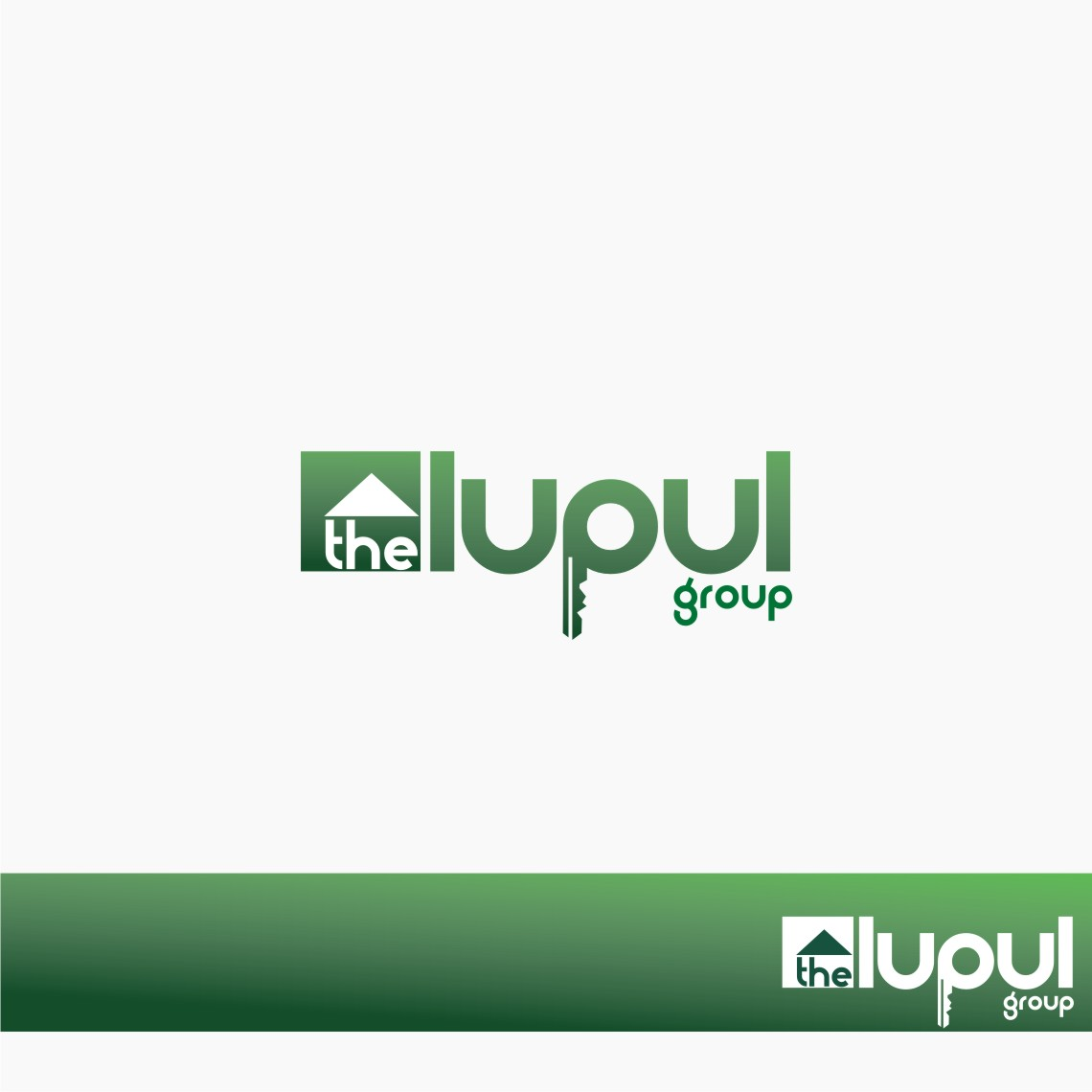 Logo Design by graphicleaf - Entry No. 11 in the Logo Design Contest Logo Design for: The Lupul Group.