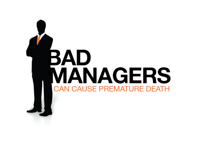 Logo Design by Jessica Wenrich - Entry No. 71 in the Logo Design Contest Unique Logo Design Wanted for Bad Managers Can Cause Premature Deaths.