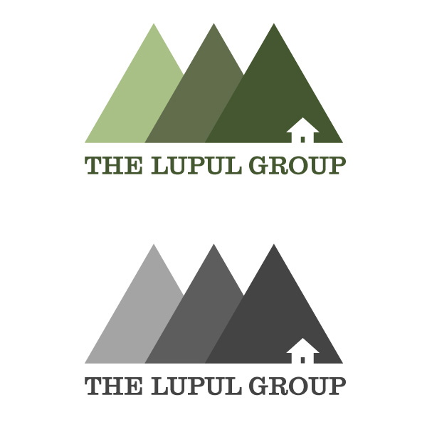 Logo Design by Daniel Bryant - Entry No. 12 in the Logo Design Contest Logo Design for: The Lupul Group.
