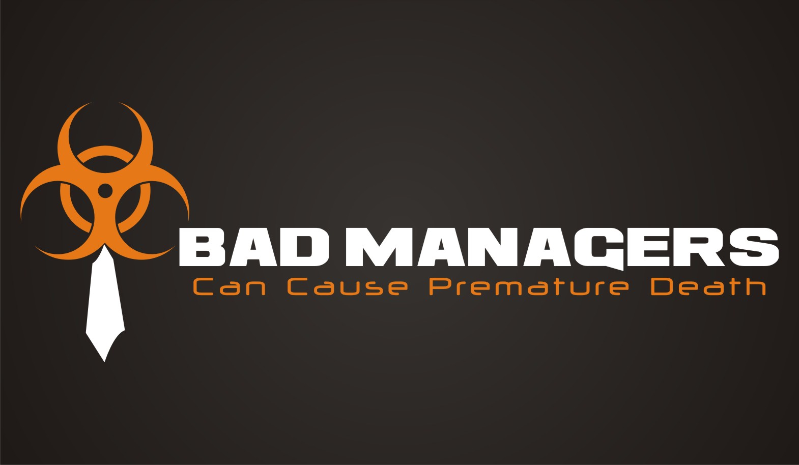 Logo Design by kambal - Entry No. 79 in the Logo Design Contest Unique Logo Design Wanted for Bad Managers Can Cause Premature Deaths.