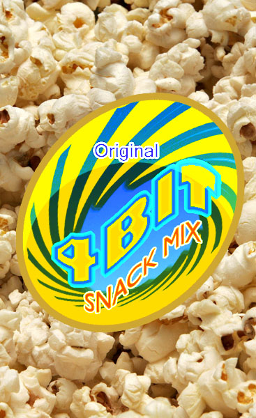 Print Design by Private User - Entry No. 31 in the Print Design Contest Fun Print Design (LABEL) 4 BIT SAVORY SNACK MIX - ORIGINAL.