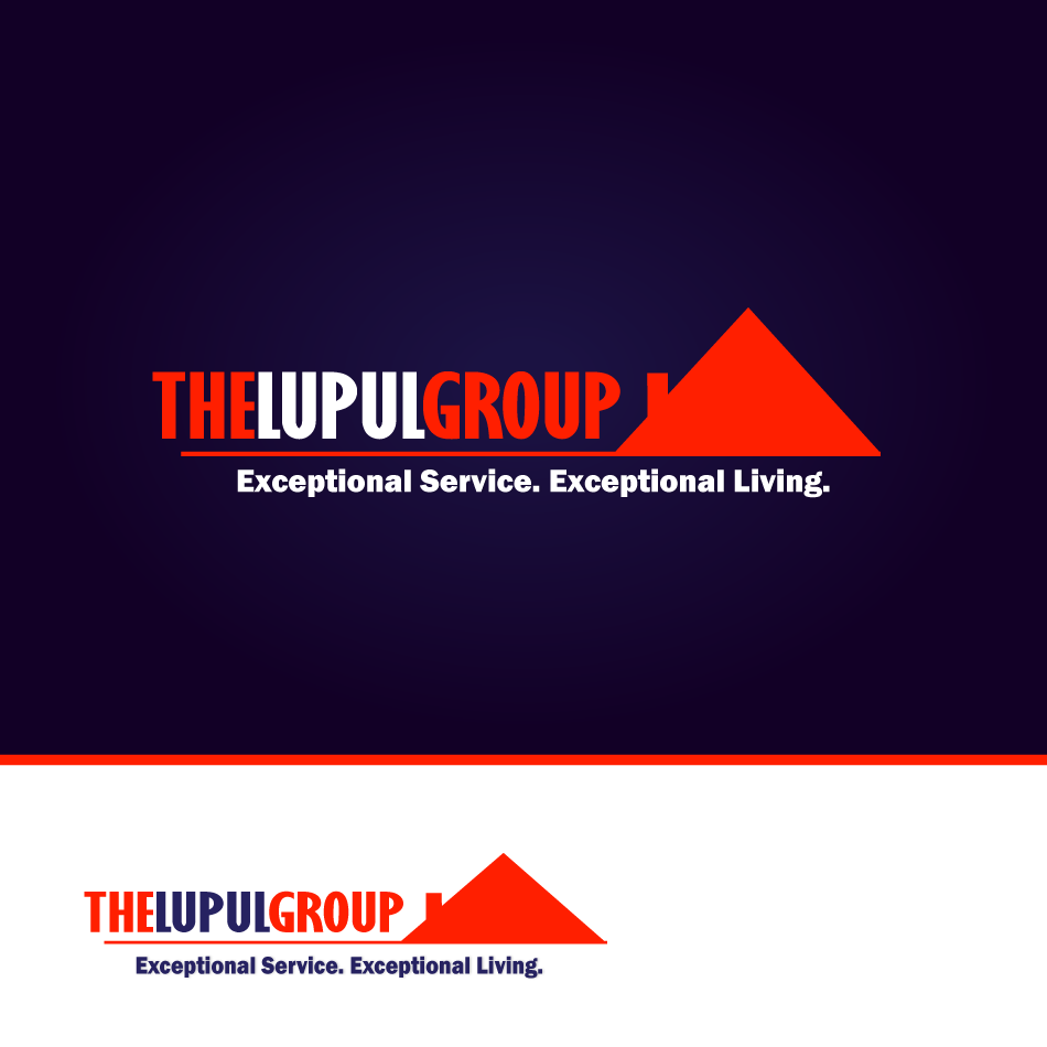 Logo Design by moonflower - Entry No. 92 in the Logo Design Contest Logo Design for: The Lupul Group.