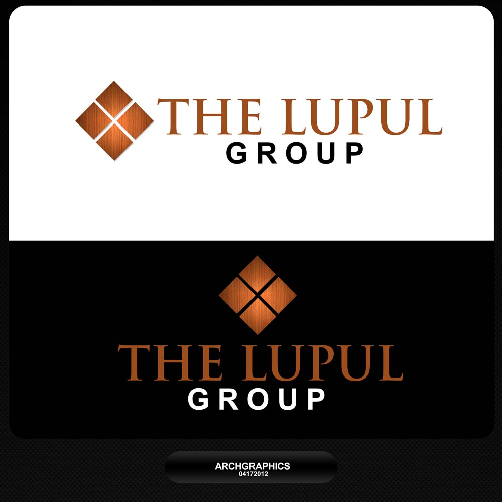 Logo Design by Bhonnie Omega - Entry No. 97 in the Logo Design Contest Logo Design for: The Lupul Group.