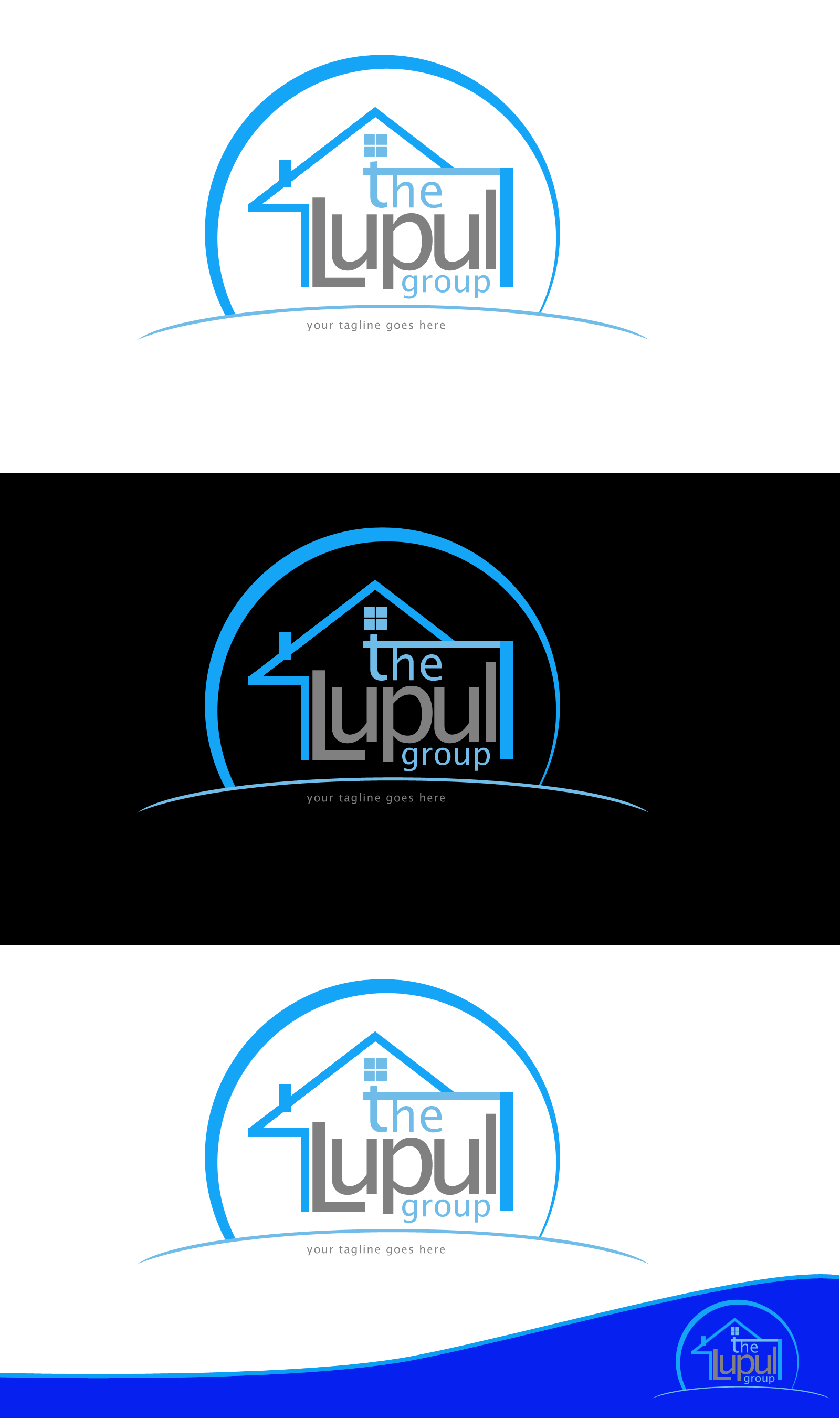 Logo Design by Private User - Entry No. 111 in the Logo Design Contest Logo Design for: The Lupul Group.