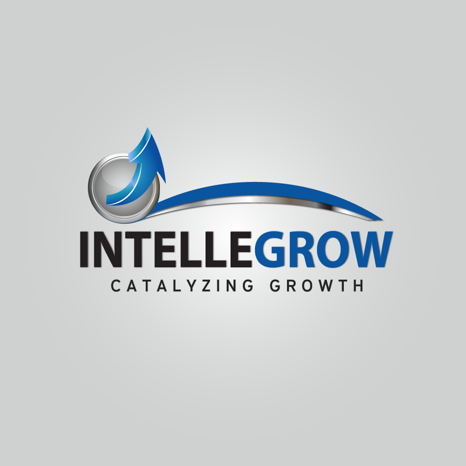 Logo Design by moonflower - Entry No. 1 in the Logo Design Contest Logo Design Needed for Exciting New Company IntelleGrow Finance Pvt. Ltd..