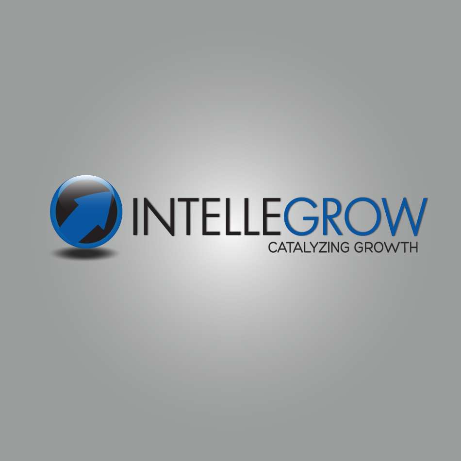 Logo Design by moonflower - Entry No. 5 in the Logo Design Contest Logo Design Needed for Exciting New Company IntelleGrow Finance Pvt. Ltd..