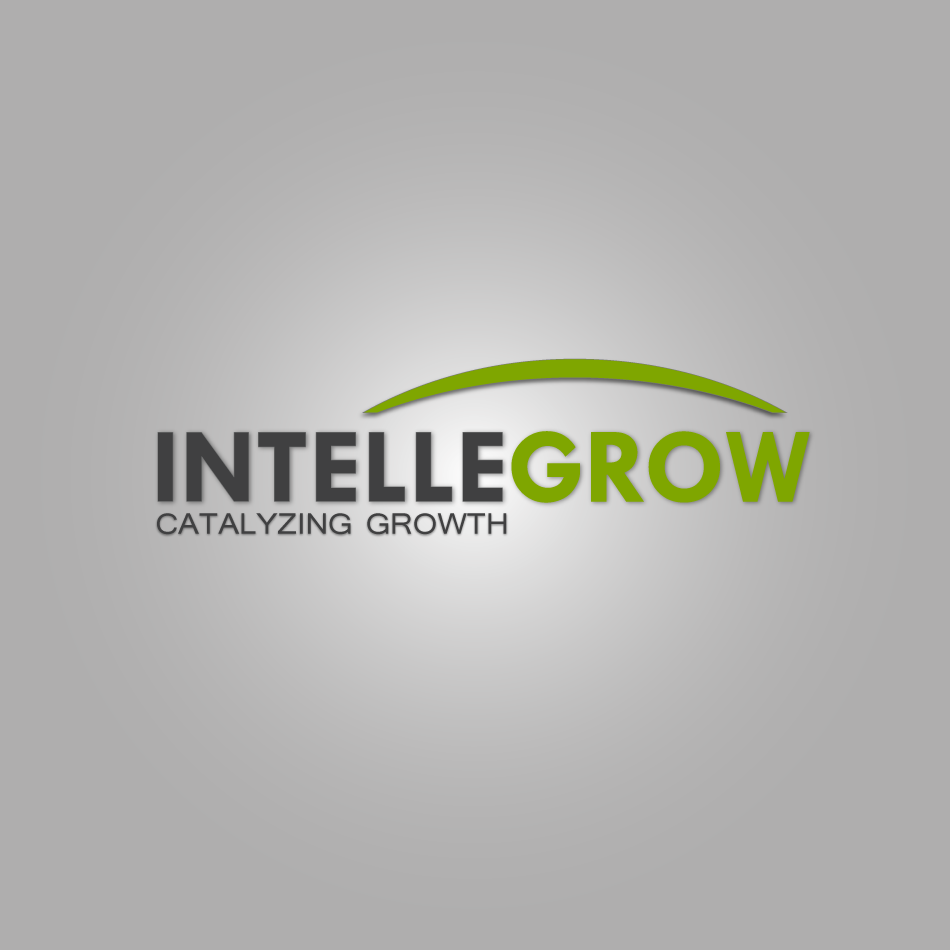 Logo Design by moonflower - Entry No. 7 in the Logo Design Contest Logo Design Needed for Exciting New Company IntelleGrow Finance Pvt. Ltd..