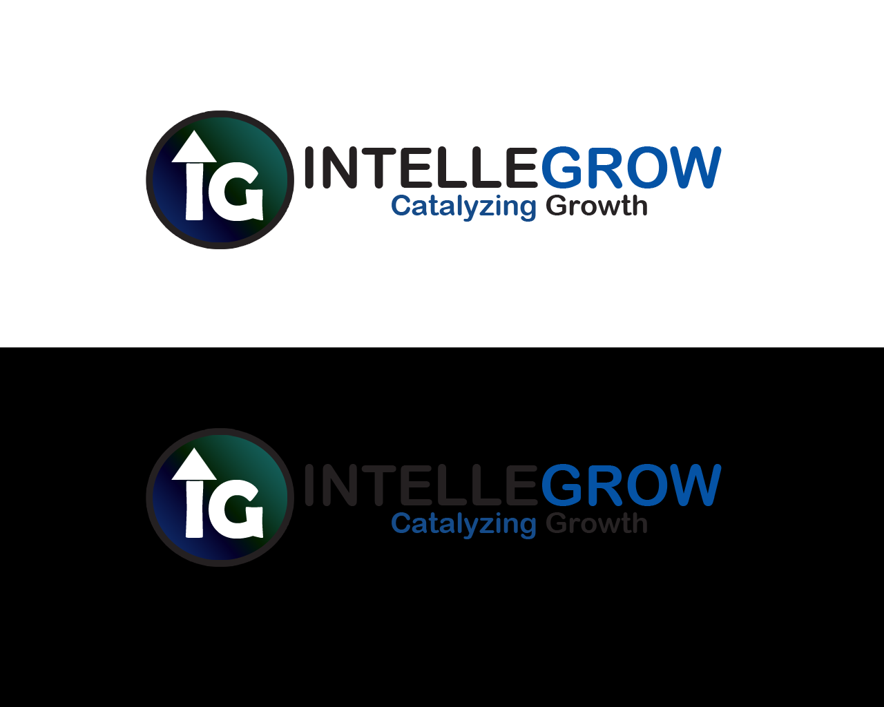 Logo Design by JanMark Bedonia - Entry No. 8 in the Logo Design Contest Logo Design Needed for Exciting New Company IntelleGrow Finance Pvt. Ltd..