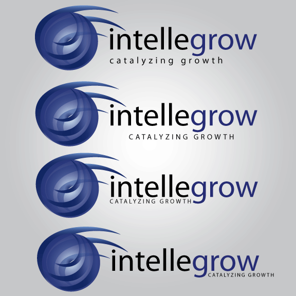 Logo Design by Ricky Frutos - Entry No. 9 in the Logo Design Contest Logo Design Needed for Exciting New Company IntelleGrow Finance Pvt. Ltd..
