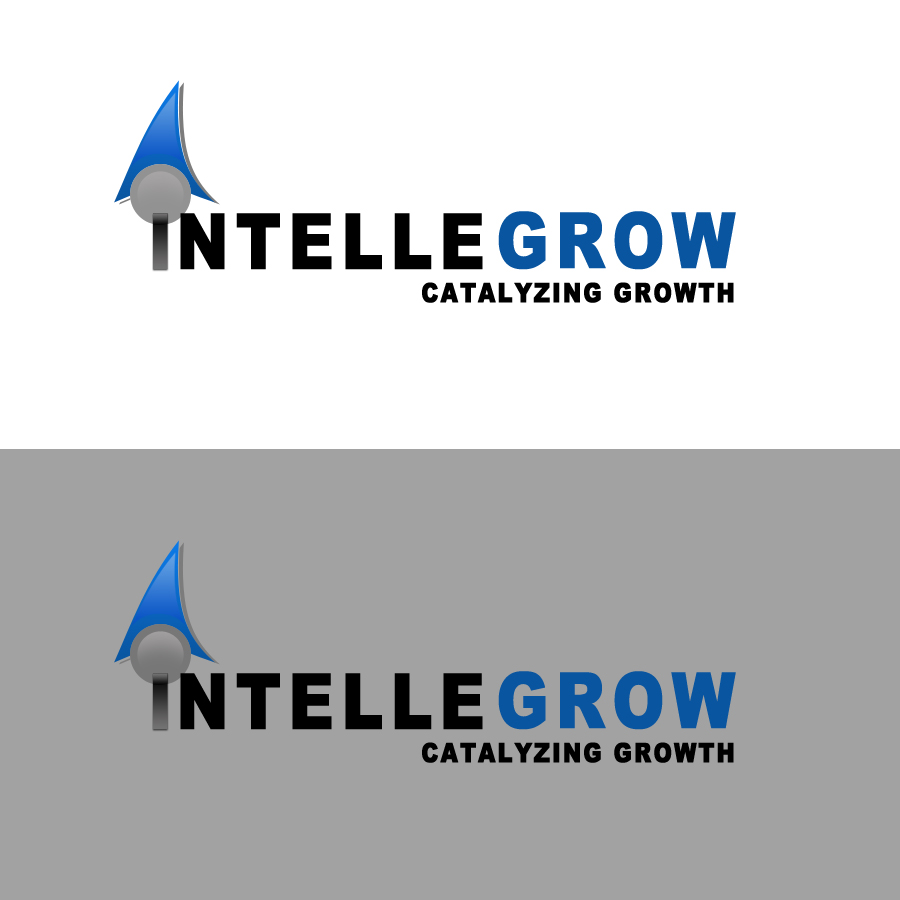Logo Design by Private User - Entry No. 16 in the Logo Design Contest Logo Design Needed for Exciting New Company IntelleGrow Finance Pvt. Ltd..