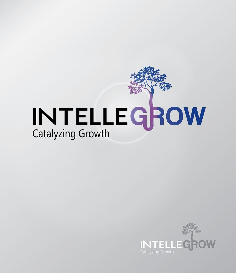 Logo Design by kowreck - Entry No. 26 in the Logo Design Contest Logo Design Needed for Exciting New Company IntelleGrow Finance Pvt. Ltd..