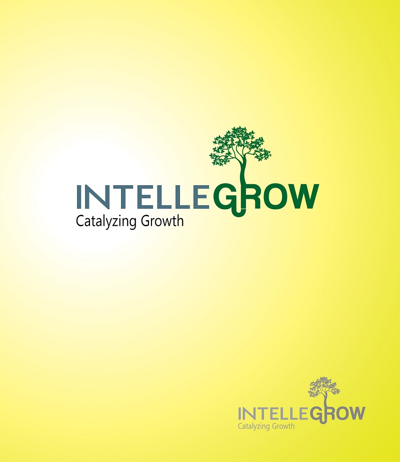 Logo Design by kowreck - Entry No. 27 in the Logo Design Contest Logo Design Needed for Exciting New Company IntelleGrow Finance Pvt. Ltd..