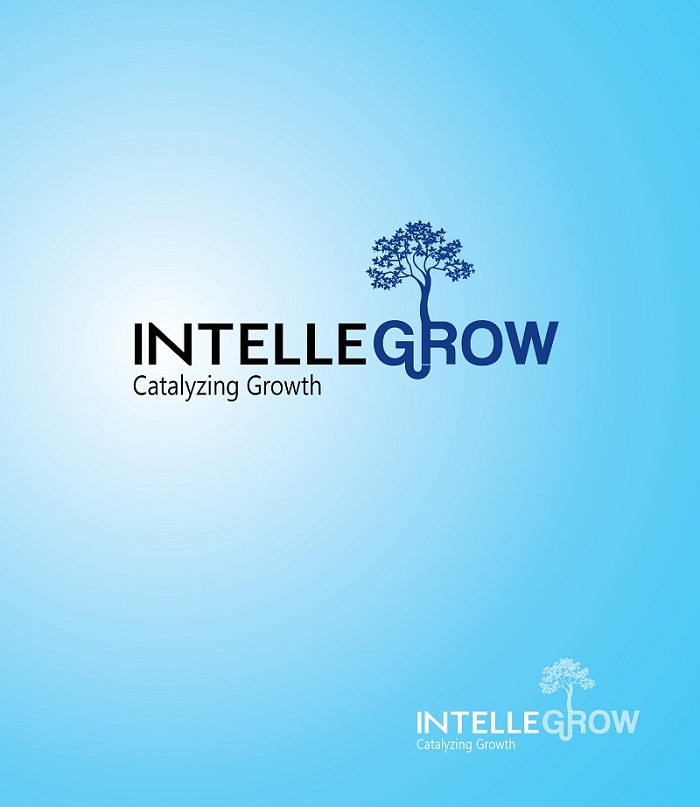Logo Design by kowreck - Entry No. 30 in the Logo Design Contest Logo Design Needed for Exciting New Company IntelleGrow Finance Pvt. Ltd..