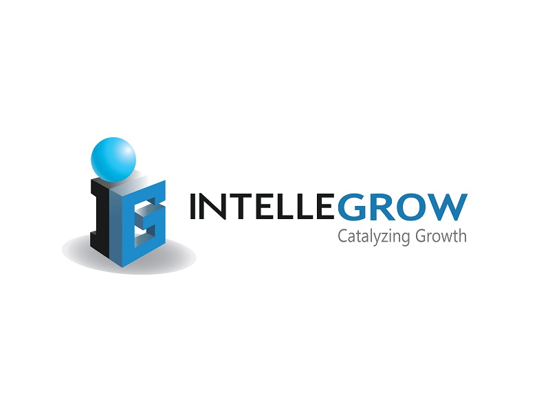 Logo Design by kowreck - Entry No. 35 in the Logo Design Contest Logo Design Needed for Exciting New Company IntelleGrow Finance Pvt. Ltd..