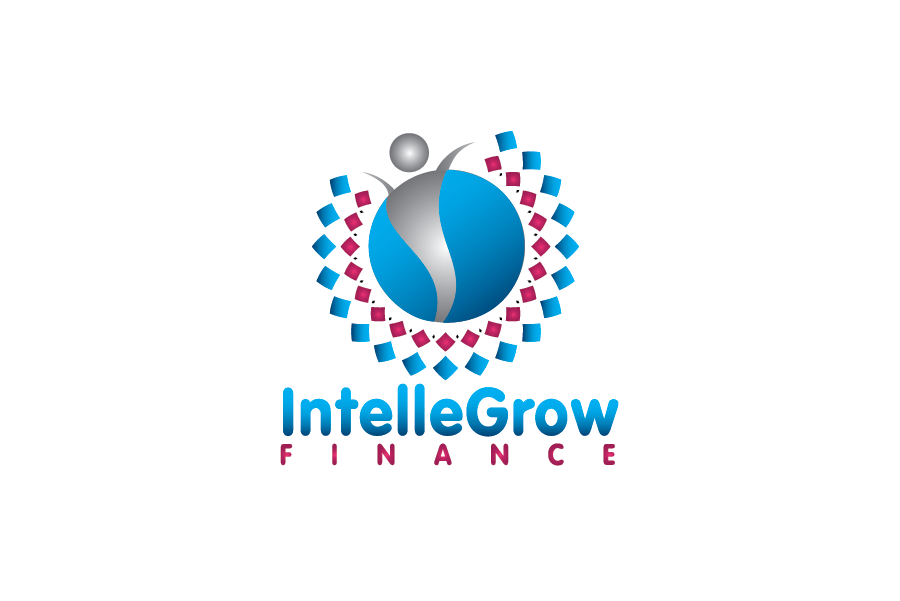 Logo Design by Moin Javed - Entry No. 37 in the Logo Design Contest Logo Design Needed for Exciting New Company IntelleGrow Finance Pvt. Ltd..