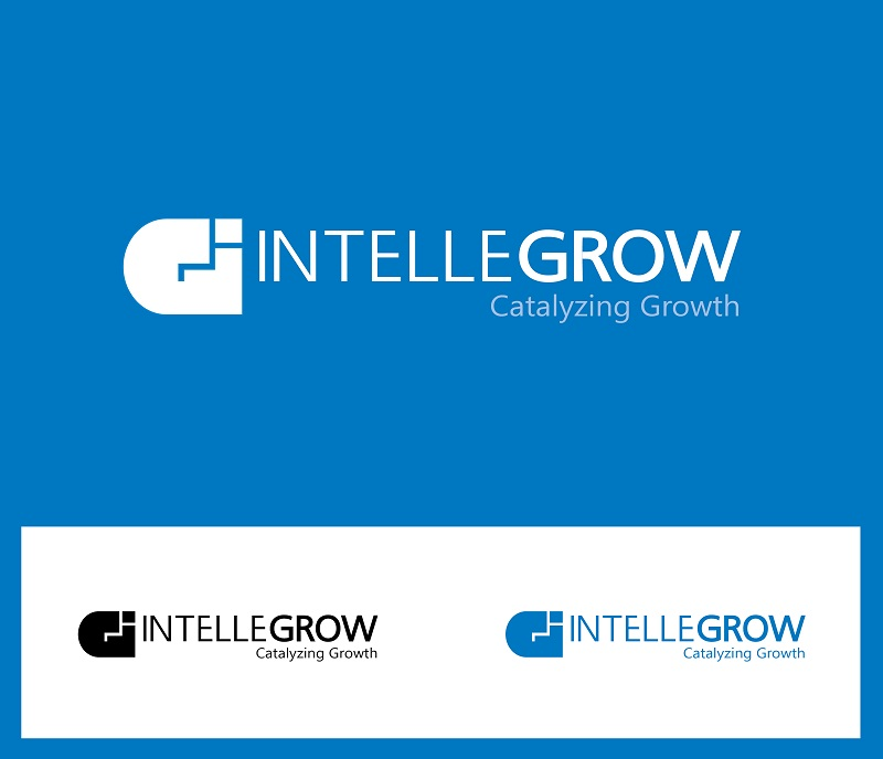 Logo Design by kowreck - Entry No. 42 in the Logo Design Contest Logo Design Needed for Exciting New Company IntelleGrow Finance Pvt. Ltd..