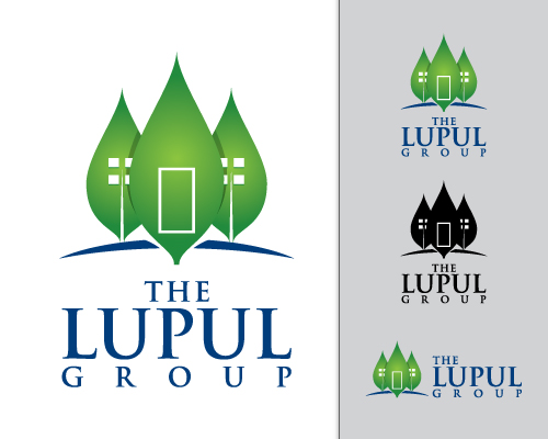 Logo Design by mazalix - Entry No. 172 in the Logo Design Contest Logo Design for: The Lupul Group.