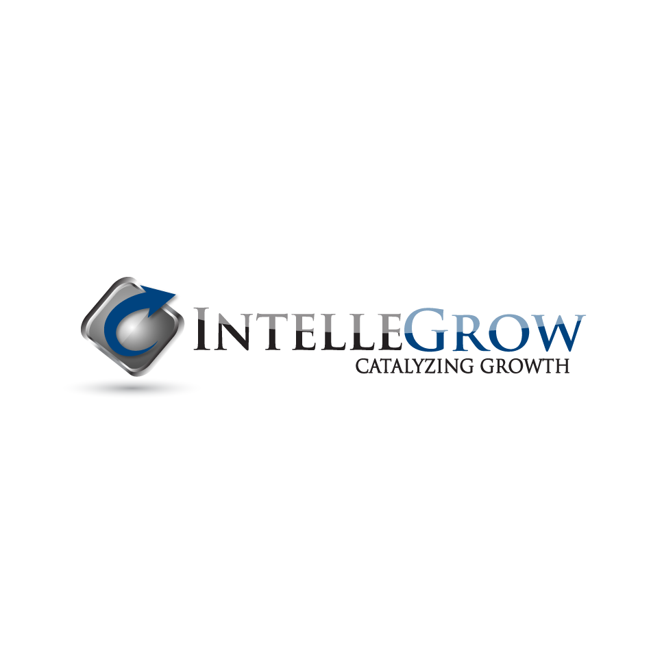 Logo Design by moonflower - Entry No. 48 in the Logo Design Contest Logo Design Needed for Exciting New Company IntelleGrow Finance Pvt. Ltd..