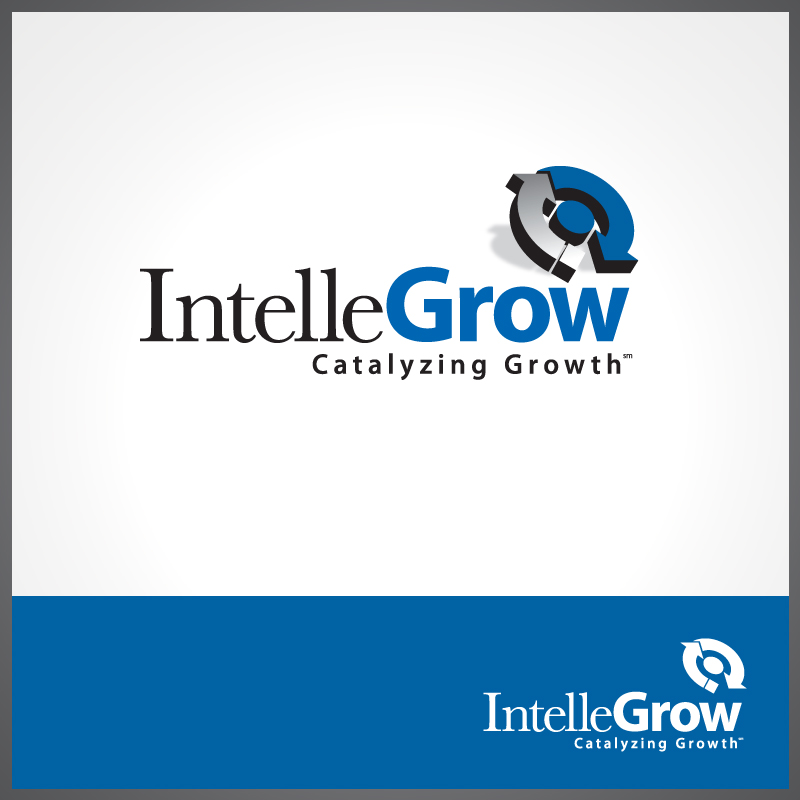 Logo Design by Number-Eight-Design - Entry No. 49 in the Logo Design Contest Logo Design Needed for Exciting New Company IntelleGrow Finance Pvt. Ltd..
