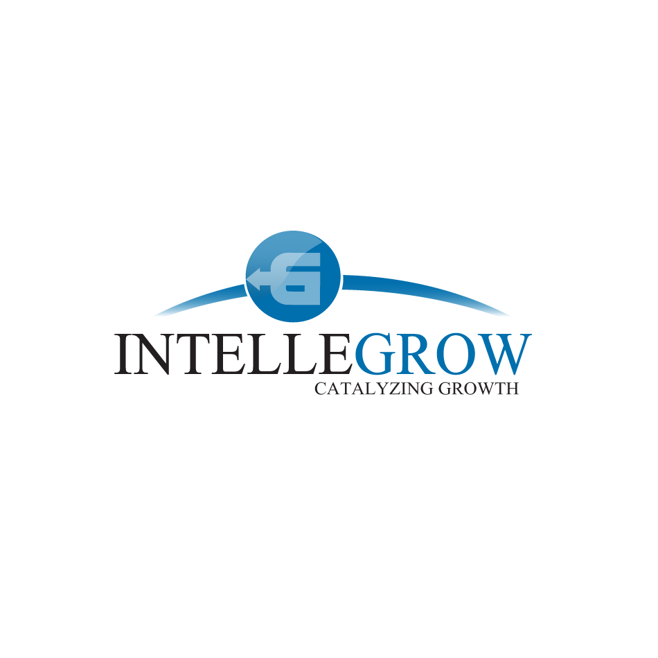 Logo Design by moonflower - Entry No. 53 in the Logo Design Contest Logo Design Needed for Exciting New Company IntelleGrow Finance Pvt. Ltd..