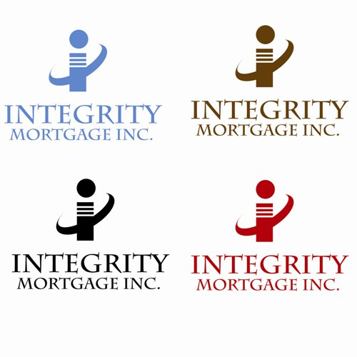 Logo Design by Nathan Cornella - Entry No. 69 in the Logo Design Contest Integrity Mortgage Inc.
