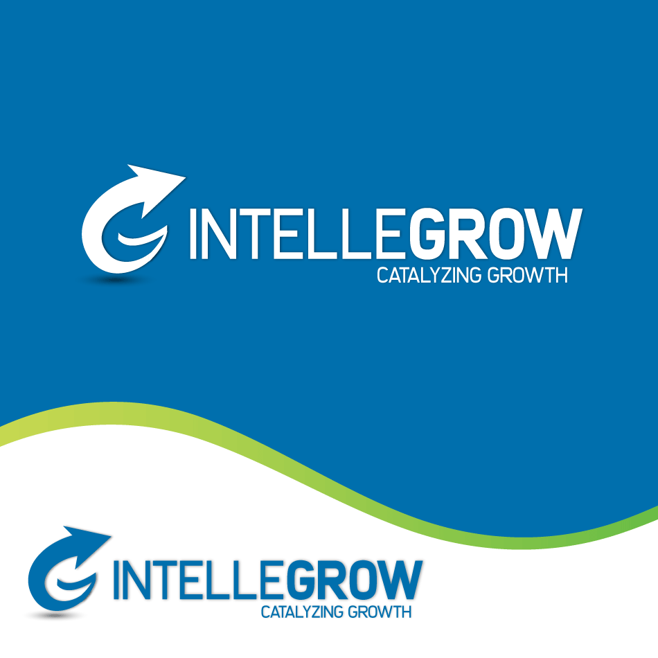 Logo Design by moonflower - Entry No. 59 in the Logo Design Contest Logo Design Needed for Exciting New Company IntelleGrow Finance Pvt. Ltd..