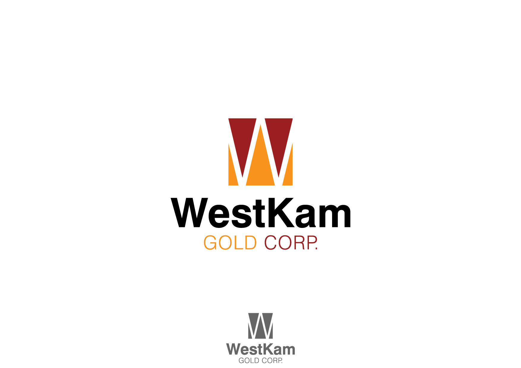 Logo Design by Nurgalih Destianto - Entry No. 10 in the Logo Design Contest New Logo Design for WestKam Gold Corp..