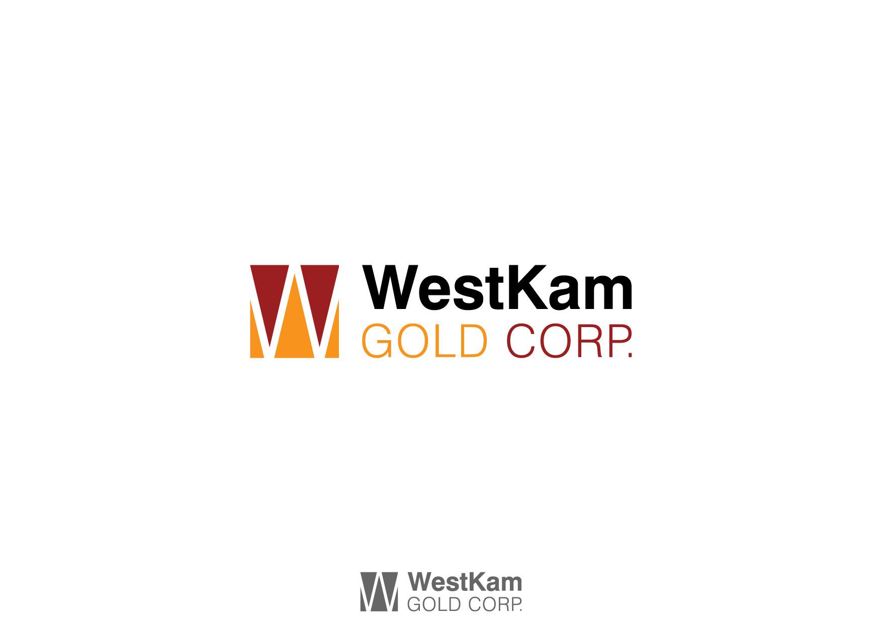 Logo Design by Nurgalih Destianto - Entry No. 11 in the Logo Design Contest New Logo Design for WestKam Gold Corp..