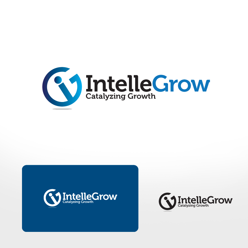 Logo Design by storm - Entry No. 71 in the Logo Design Contest Logo Design Needed for Exciting New Company IntelleGrow Finance Pvt. Ltd..