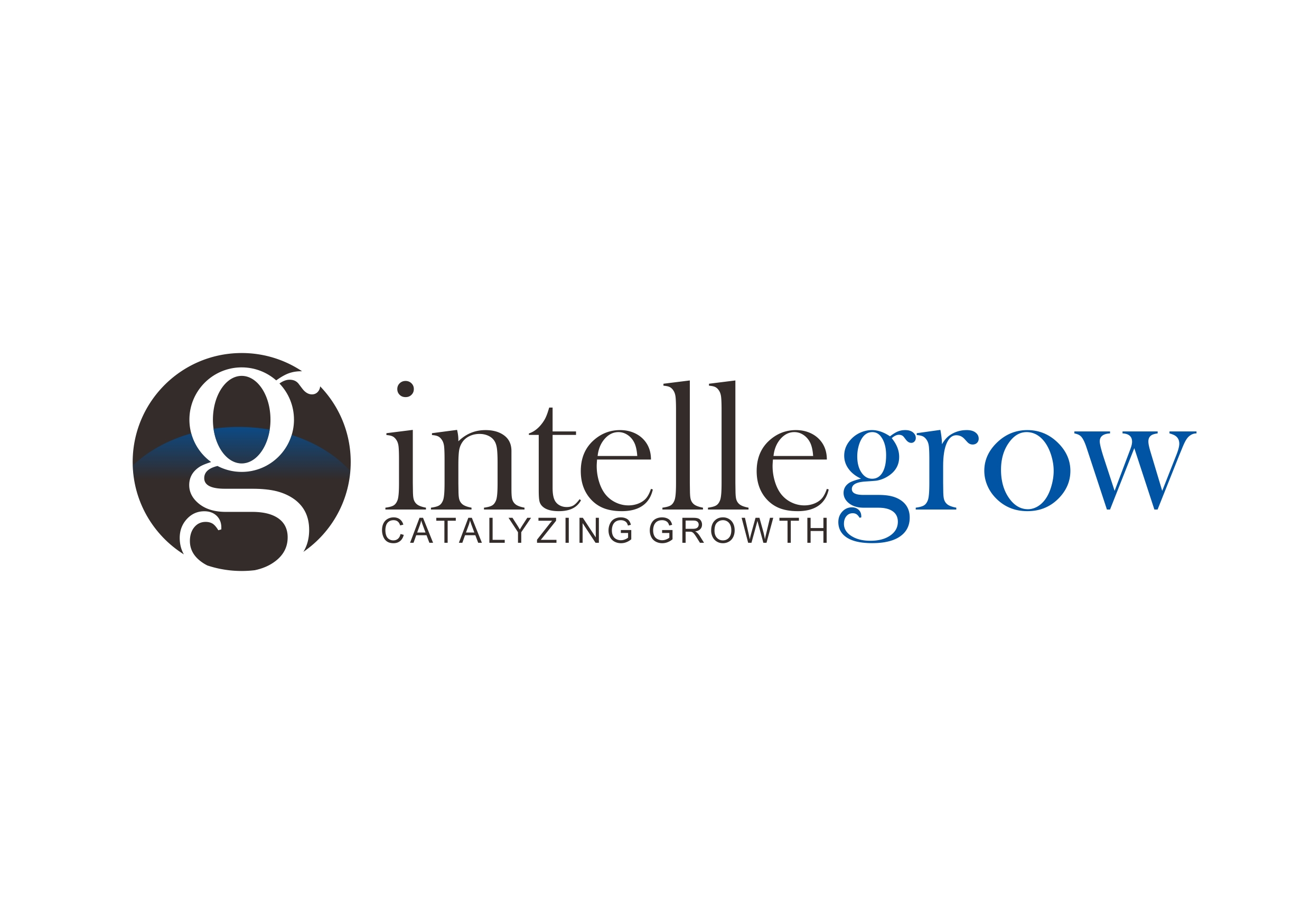 Logo Design by Teguh Mudjianto - Entry No. 75 in the Logo Design Contest Logo Design Needed for Exciting New Company IntelleGrow Finance Pvt. Ltd..