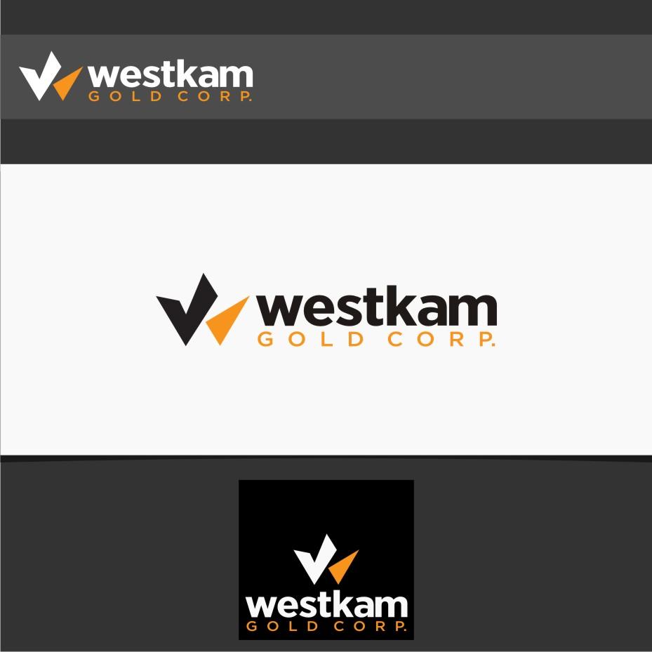 Logo Design by Muhammad Nasrul chasib - Entry No. 24 in the Logo Design Contest New Logo Design for WestKam Gold Corp..