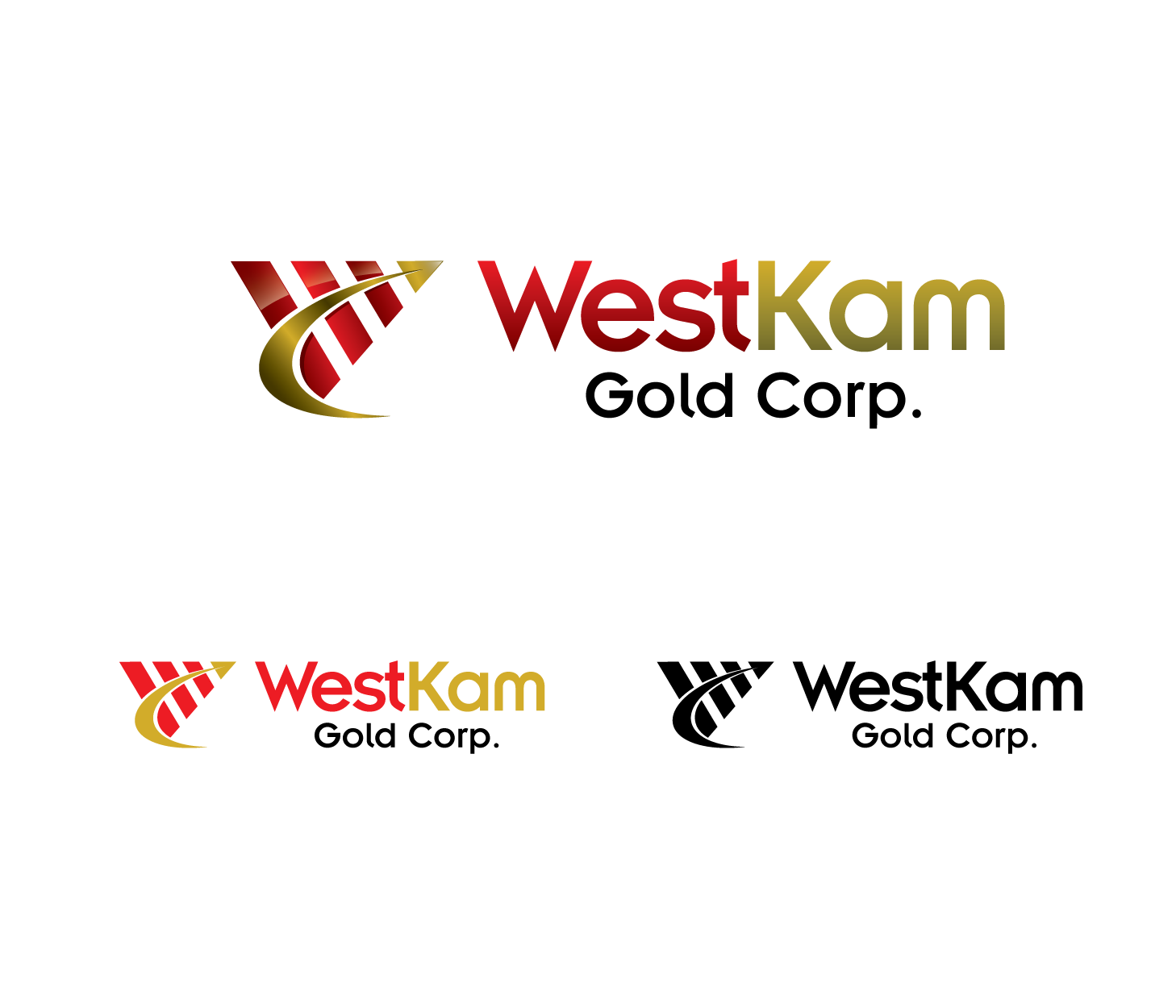 Logo Design by Private User - Entry No. 26 in the Logo Design Contest New Logo Design for WestKam Gold Corp..