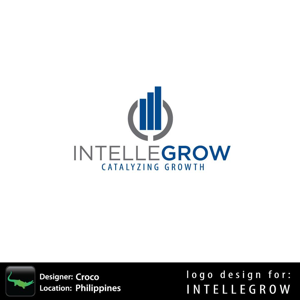 Logo Design by rockin - Entry No. 84 in the Logo Design Contest Logo Design Needed for Exciting New Company IntelleGrow Finance Pvt. Ltd..