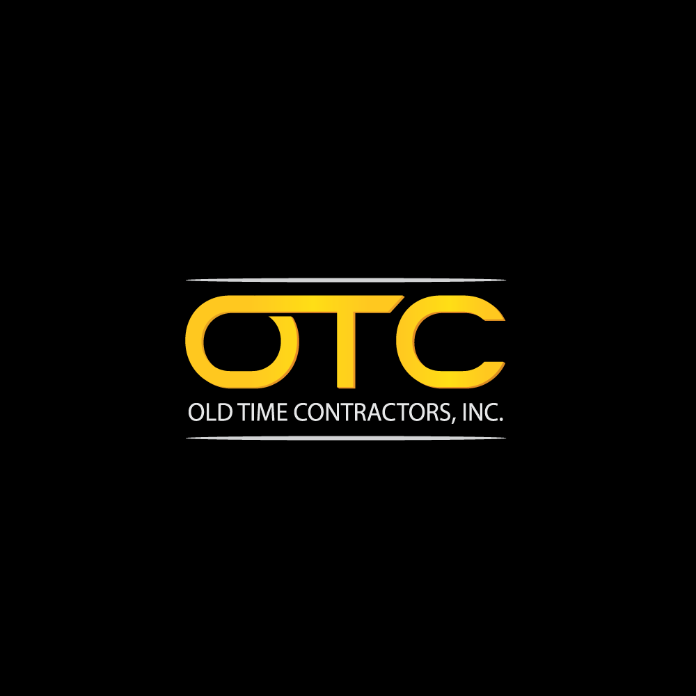 Logo Design by rockin - Entry No. 2 in the Logo Design Contest Old Time Contractors, Inc. (new brand:  OTC, Inc.) Logo Design.