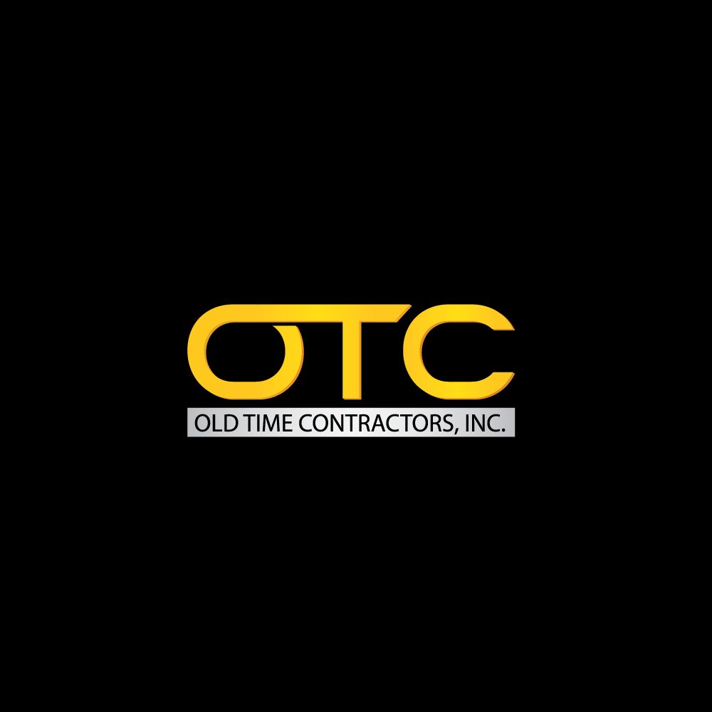 Logo Design by rockin - Entry No. 3 in the Logo Design Contest Old Time Contractors, Inc. (new brand:  OTC, Inc.) Logo Design.