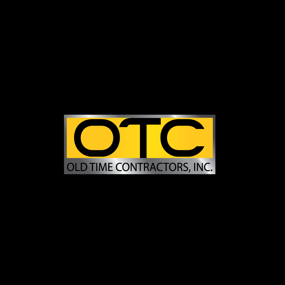 Logo Design by rockin - Entry No. 6 in the Logo Design Contest Old Time Contractors, Inc. (new brand:  OTC, Inc.) Logo Design.