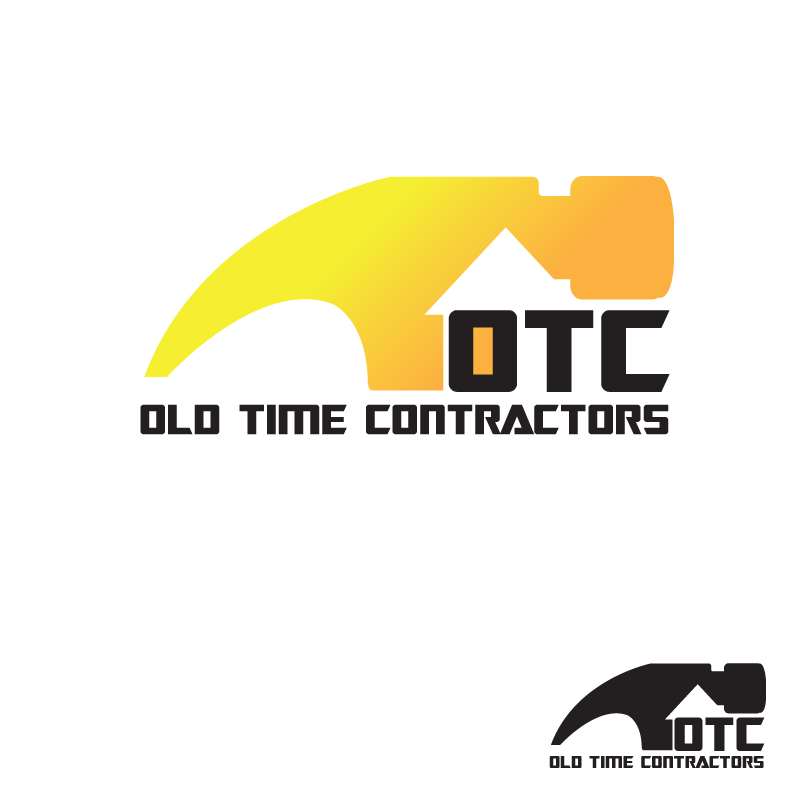 Logo Design by storm - Entry No. 8 in the Logo Design Contest Old Time Contractors, Inc. (new brand:  OTC, Inc.) Logo Design.