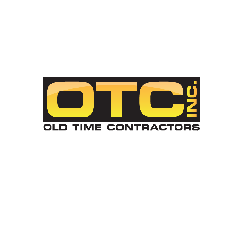Logo Design by storm - Entry No. 9 in the Logo Design Contest Old Time Contractors, Inc. (new brand:  OTC, Inc.) Logo Design.