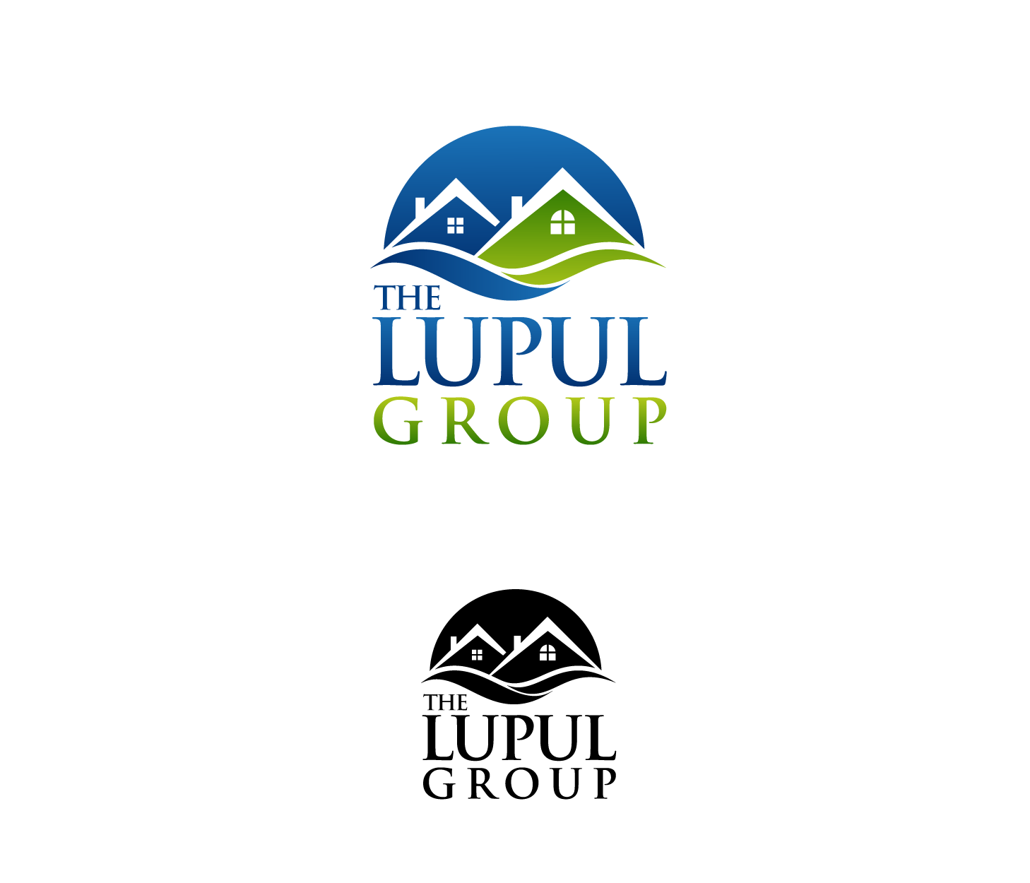 Logo Design by Private User - Entry No. 192 in the Logo Design Contest Logo Design for: The Lupul Group.