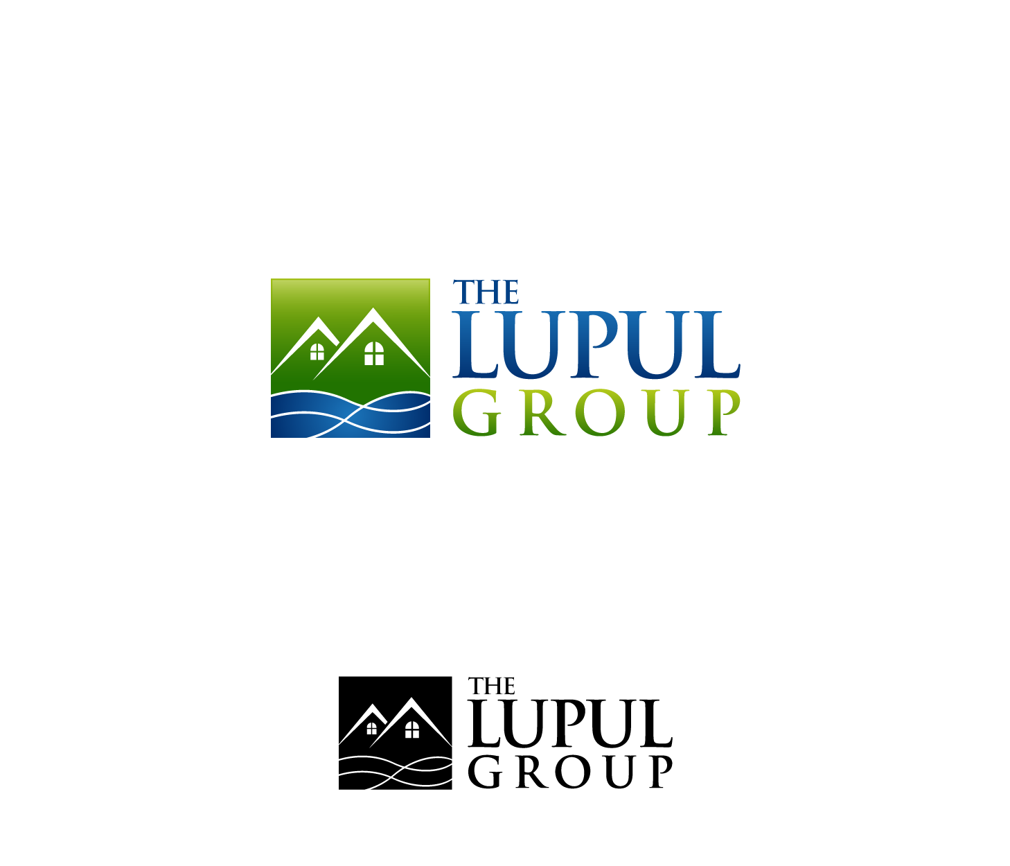 Logo Design by Private User - Entry No. 193 in the Logo Design Contest Logo Design for: The Lupul Group.