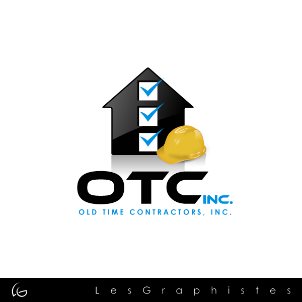 Logo Design by Les-Graphistes - Entry No. 10 in the Logo Design Contest Old Time Contractors, Inc. (new brand:  OTC, Inc.) Logo Design.