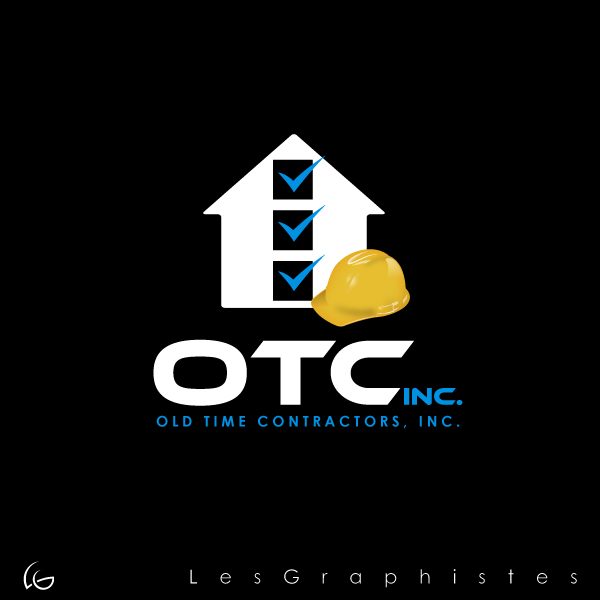 Logo Design by Les-Graphistes - Entry No. 11 in the Logo Design Contest Old Time Contractors, Inc. (new brand:  OTC, Inc.) Logo Design.