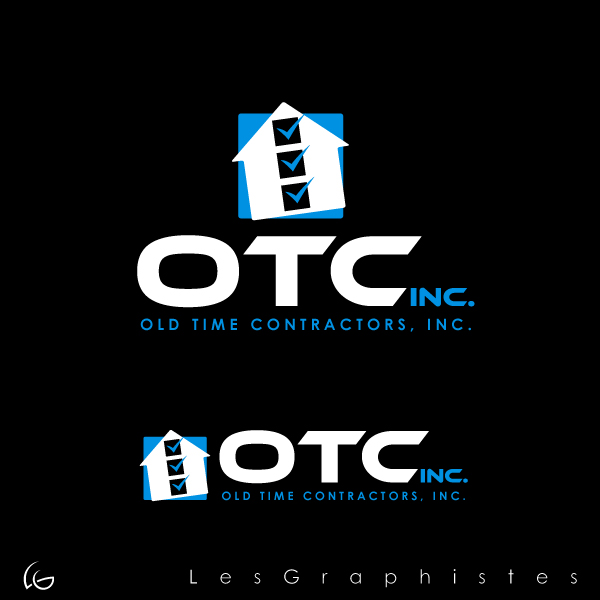 Logo Design by Les-Graphistes - Entry No. 12 in the Logo Design Contest Old Time Contractors, Inc. (new brand:  OTC, Inc.) Logo Design.